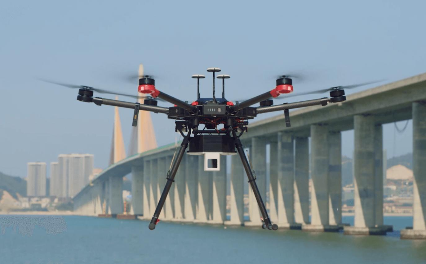 UAV 3D mapping - Showcase - Livox